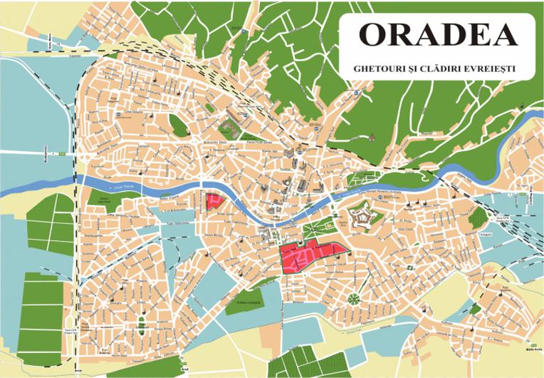 Ghetto formed at Oradea